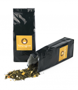 Té Verde con Piel de Naranja y Flor de Azahar