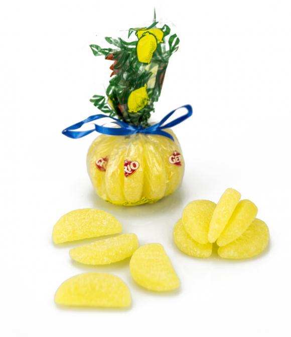 Mandarina de caramelos de limón