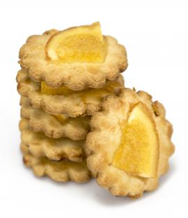 Biscuits au Beurre et à la Cannelle avec Orange Confite